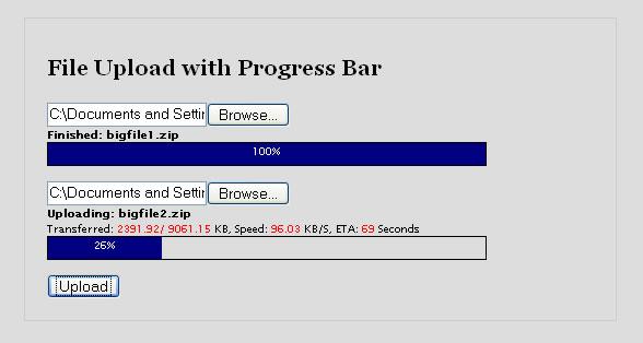 File Upload Progress Bar — TurboGears 1 0 documentation